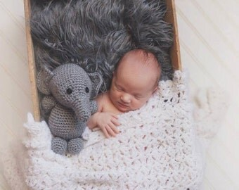 Crochet Stuffed Animal: Elephant