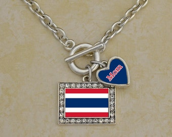 Custom Family Thailand Necklace - FLAGTH54590