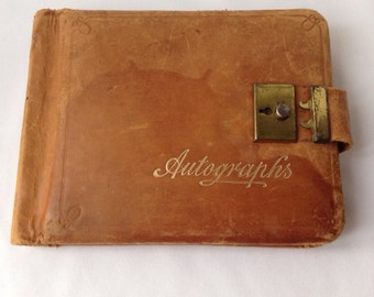 Autograph Book from the 1940's