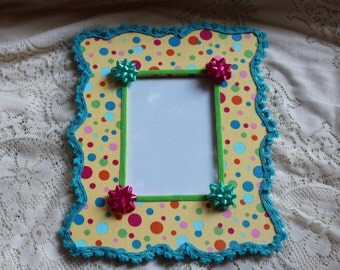 Happy Birthday Picture Frame