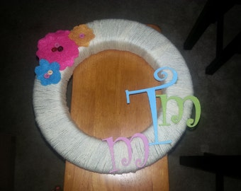 Custom Made Spring Wreath