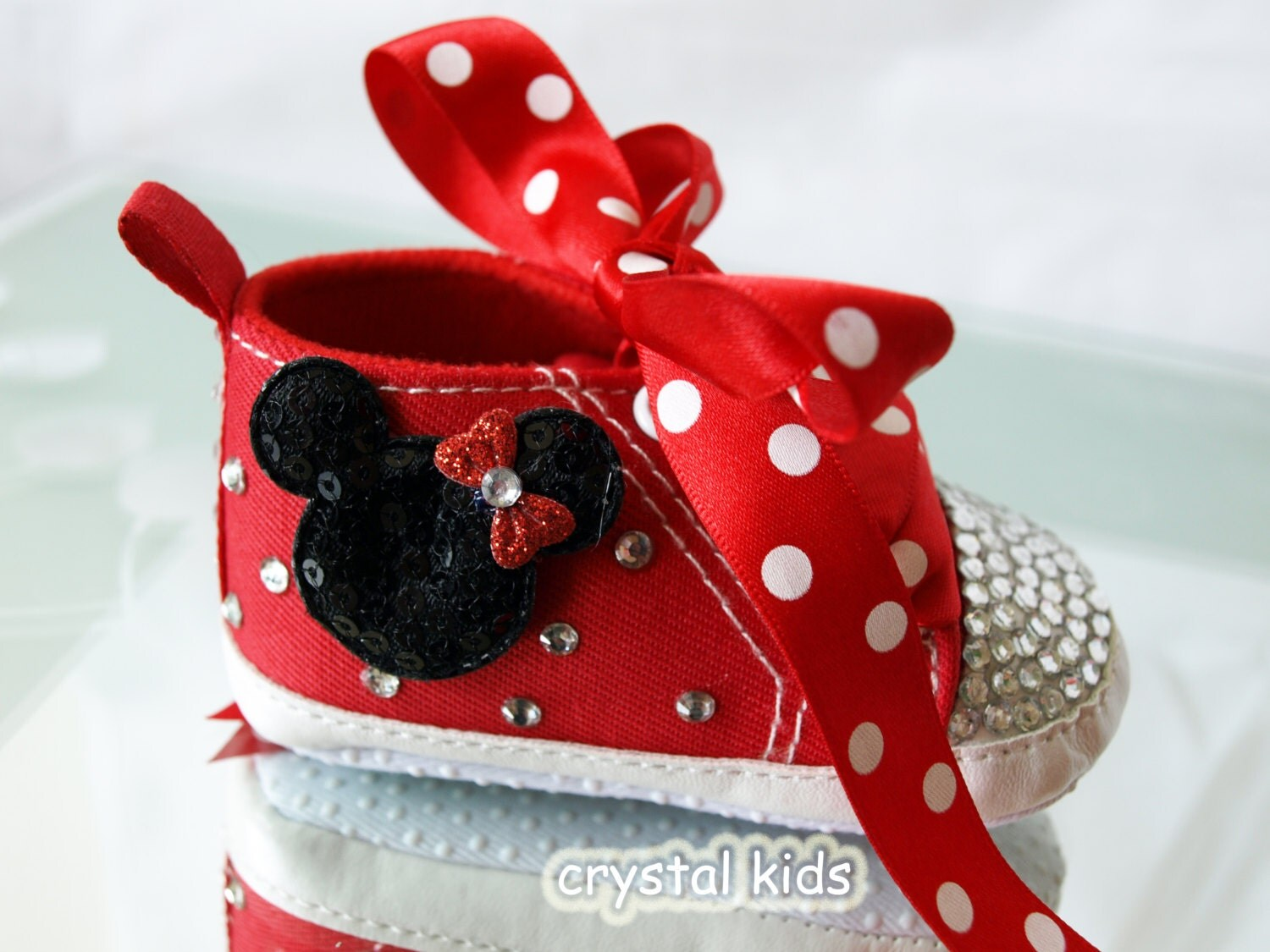 Sparkly Shoes Minnie Mouse Kids