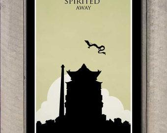 Spirited Away Minimalist Poster | www.pixshark.com ...