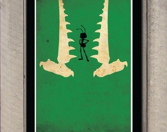 Disney Pixar movie poster - A bug's life