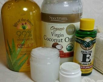 Reconstructive Hair Conditioning Paste  - 2 oz Jar, Vitamin E, Silk Amino Acids, Organic Panax Ginseng Root Extract, Pro Vitamin B5