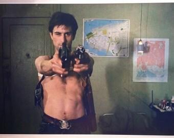 "Taxi Driver Gun Movie Scene "" 36"" x 24"" Digital Poster Print Painting Robert DeNiro"