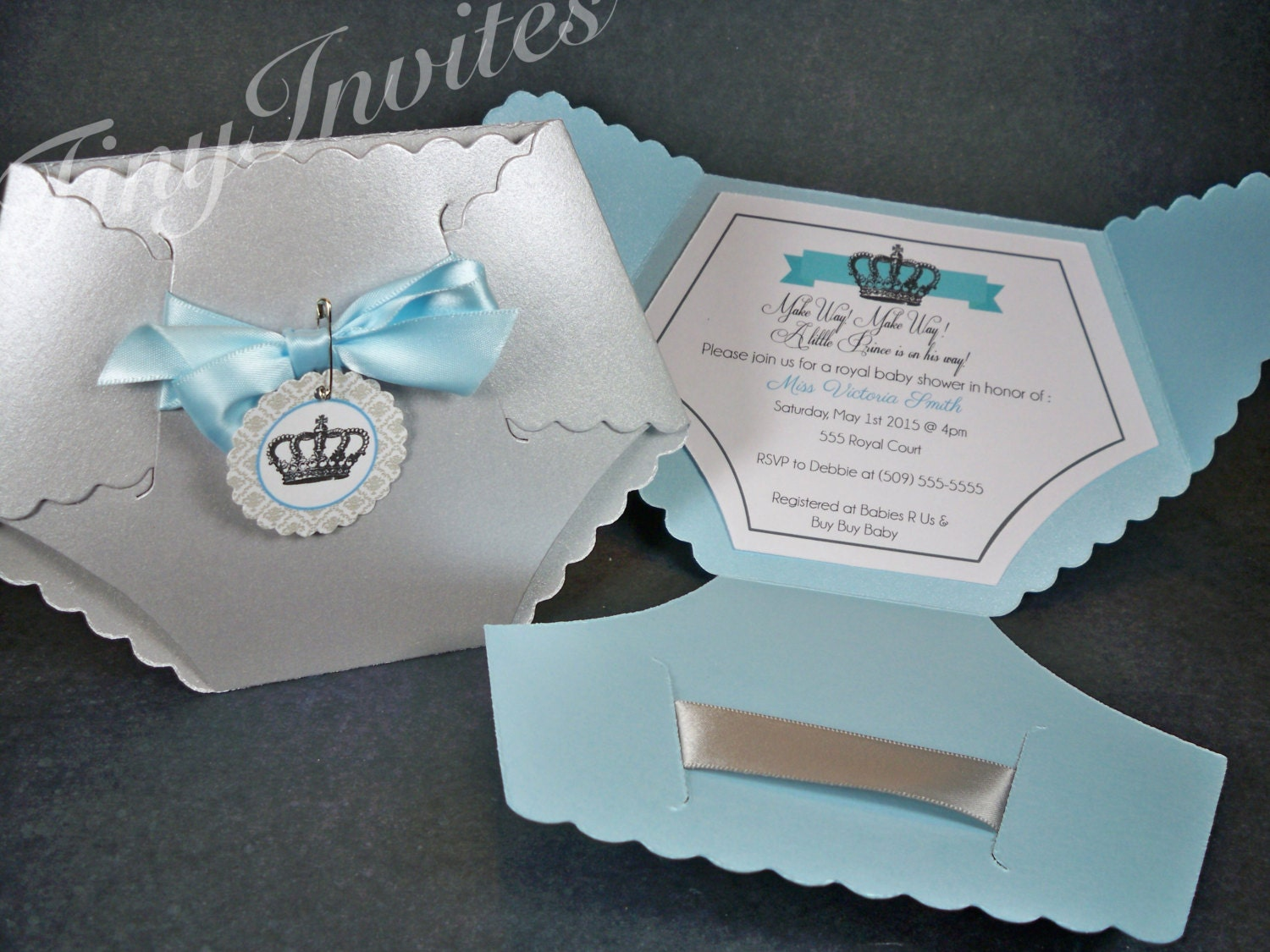 little prince baby shower invitationbaby boy by tinyinvites, Baby shower