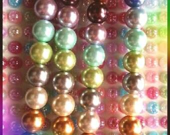 13 pcs of perles
