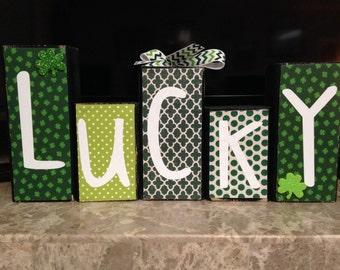 Saint Patrick's Day Blocks
