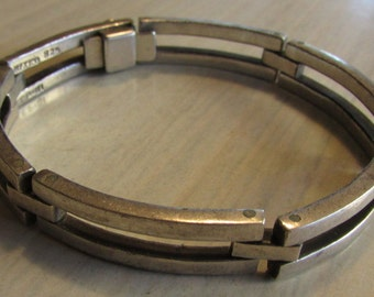 Sterling Silver Heavy Link Bracelet from Mexcio