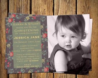 Christening / Baptism Party Invitations Designer Print