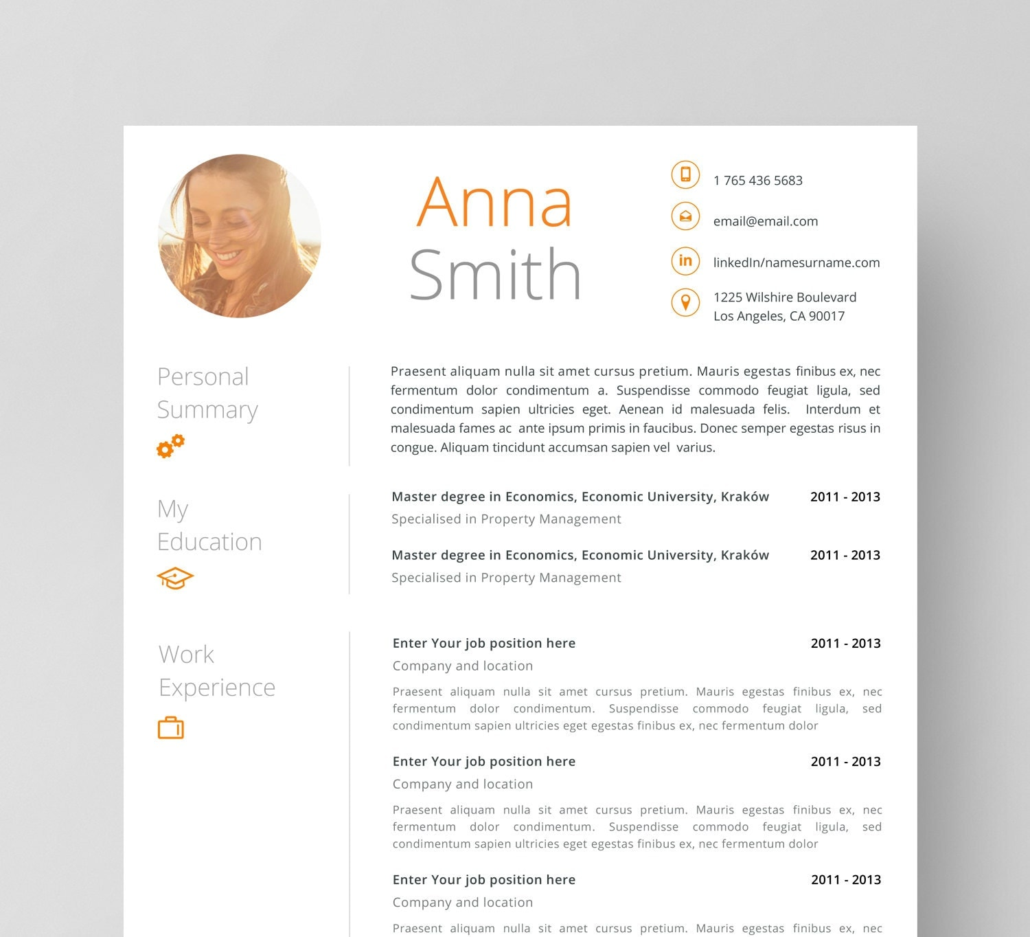 zoom - Cover Letter Template For Resume Free
