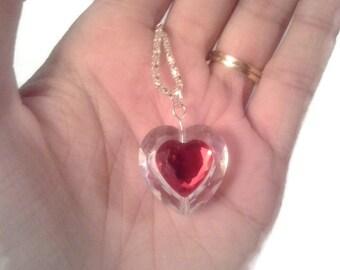 Legend of Zelda piece of heart necklace heart container skyward sword