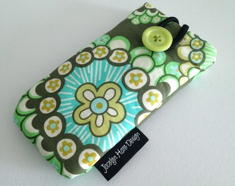 Fabric iPhone 5 Cover, iPhone Case, iPhone Sleeve