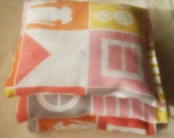 3 Organic cotton Catnip pillows - Organic cat toys