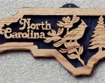 North Carolina State Plaque