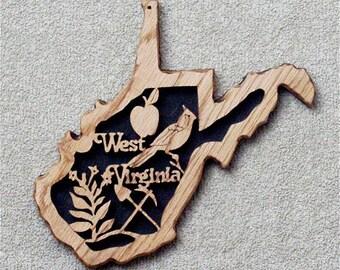 West Virginia State Plaque