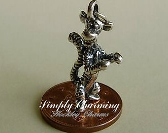 Sterling Silver Tigger Sterling Silver Charm