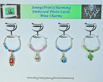 Beautifully Beaded Wine Charms