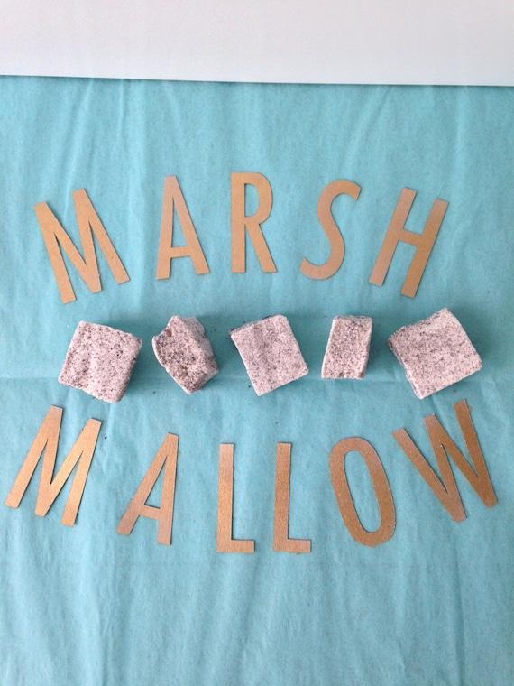 Vanilla and Oreos Marshmallows