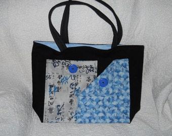 Oriental Blues Handbag/Tote