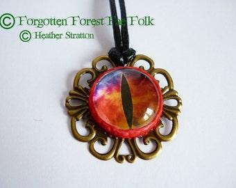 Large Dragon eye pendant