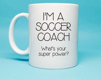 Gift For Soccer Coach - Soccer Coach Gift - Christmas Gift for Soccer Coach - Soccer Coach - Unique Gift Idea - Soccer Coach Gift Idea - Mug