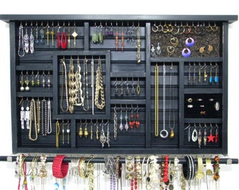Large Dorm Room Jewelry Display
