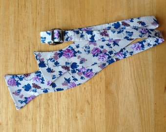 Floral bow tie/blossoms