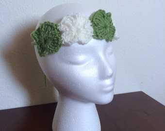 Shamrock Headband Four Leaf Clover Hairband Spring St. Patrick's Day