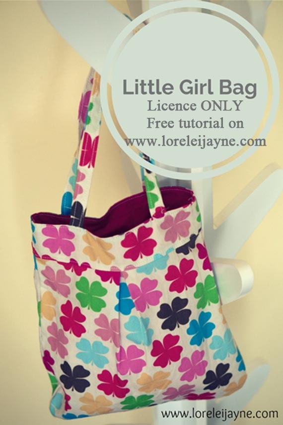 Little Girl Bag Commercial Use Licence Only
