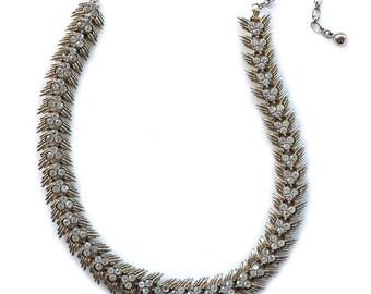 Trifari Original Vintage Gold Washed Necklace