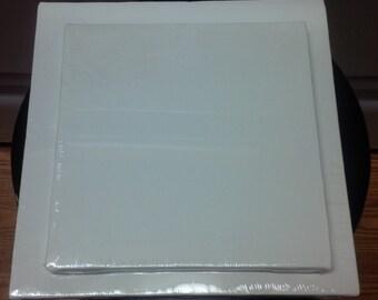 Destashing-2 Stapled Canvases