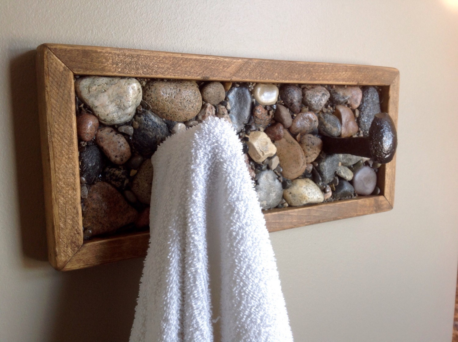 Rustic Towel Rack Or Coat Rack