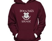 Hogwarts Alumni Hooded Unisex Sweatshirt, Harry Potter Hoodie