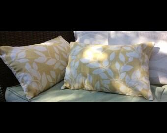 Lemon leaves Cushion