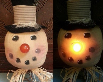 Chill E. Willie light up Snow Head E-PATTERN