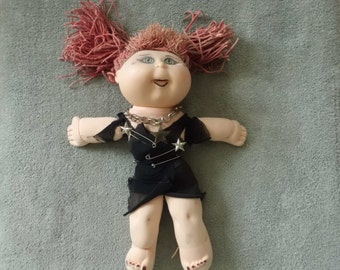 Goth Cabbage Patch Doll Make Over