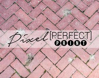 "EXCLUSIVE - 3ft x 3ft ""Pattern Road"" // Vinyl Photography Backdrop // Rock Backdrops // Brick Road Floordrop (PP103)"