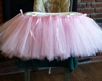 Highchair Tutu to match your theme, many colors available