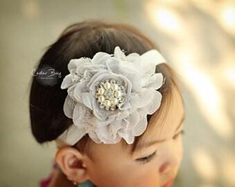 Baby headband, Infant headband, Newborn headband,Baby girl headband, Baby flower headband, chiffon headband, headbands