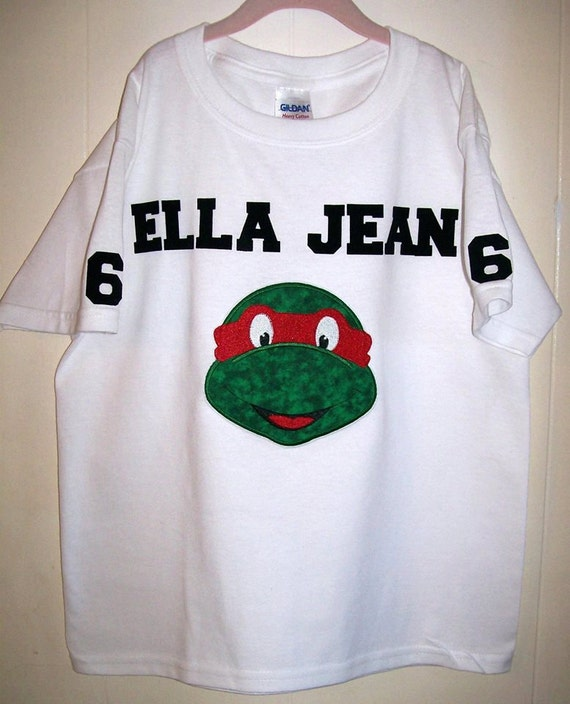 Custom Personalized Ninja Turtle Shirt Great For Birthdays