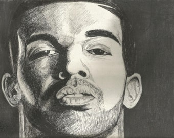 Drake in Charcoal