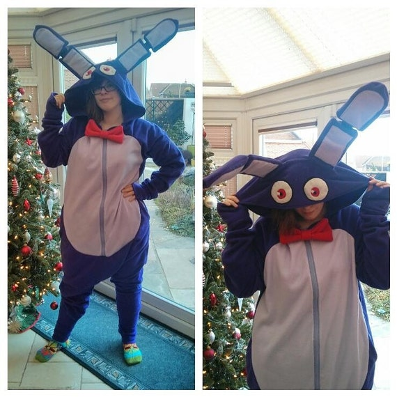 Items similar to bonnie the bunny five nights at freddy s onesie