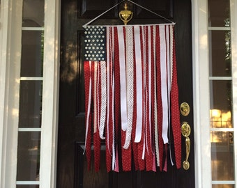 Flag door banner, 4th of July, Memorial day flag, American flag, Patriotic flag, Fourth of July
