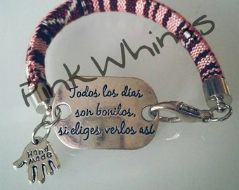 "Bracelet ""Be by your side is dreaming"""