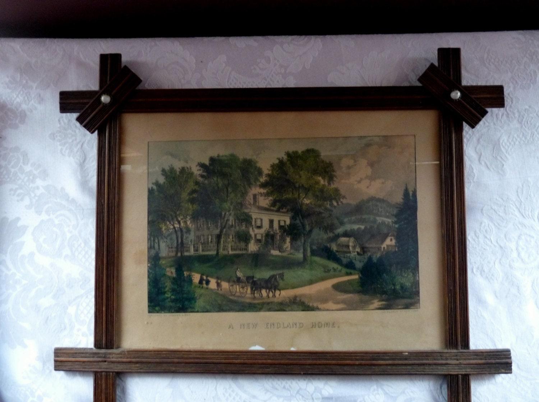 vintage currier ives prints eBay