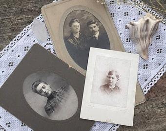 SET of Antique photos (3)
