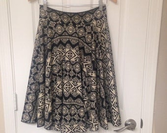 Aztec Twirl Skirt Size XS, S, M, L