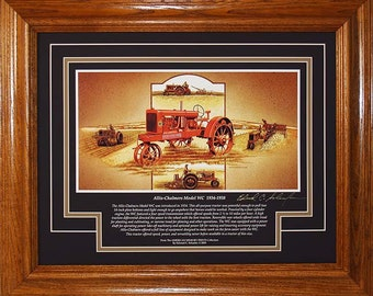 Allis Chalmers Model WC on steel 1934 to 1938 with History